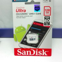 Micro SD SanDisk 128GB 80Mbps CL10 Ultra High Speed ORIGINAL