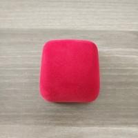 Tempat Cincin Kotak Lucu Bagus Murah Bludru Merah Laris Mantap Kecil