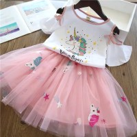 Baju Setelan Anak Perempuan Import UNICORN