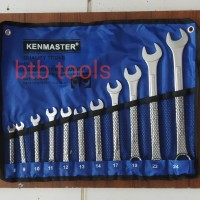 KUNCI RING PAS SET 11 PCS 8-24 mm (KENMASTER)