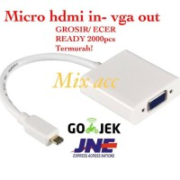 KABEL MICRO HDMI TO VGA MURAH