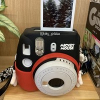 kamera polaroid asli fuji film mickey mouse