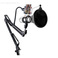 Microphone Stand Holder 360 Lazypod with Clamp - NB-35