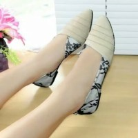Reiv - Keong Brukat Flat Shoes