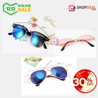 Kacamata Sunglasses Pria Wanita Unisex Model Vintage Classic Fashion