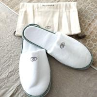 Sofitel Hotel Slippers | Sandal Rumah Kamar | Sandal Hotel Bulu Handuk