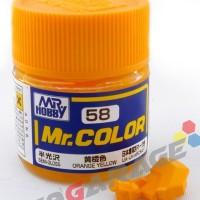 Mr Color C 58 Orange Yellow - Gundam Model Kit Paint