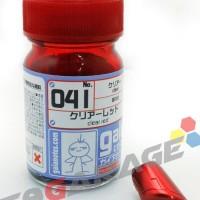 Gaia Paint Ga 41 - Clear Red - Gundam Model Kit Paint