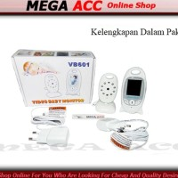 'Termurah Color Video Baby Monitor VB601 Night Vision 2.0 Inch .
