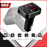 Sale~ CARB2 Bluetooth Car Kit MP3 Player Wireless FM Transmitter 2.1A