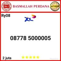 Nomor Cantik XL 00000 08778 5000005 myr08