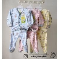 Velvet Junior Setelan Panjang Baju Tidur Piyama Bayi Motif S M L - Bun