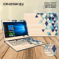 Garskin Laptop Cover Lenovo Ideapad 320-14ISK-80XG00-1BID 1CID 1DID FB