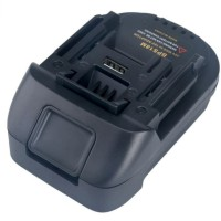 BPS18M Battery Adapter For Black Decker Stanley Porter Cable Convert