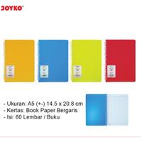 Notebook Buku Catatan Buku Tulis Spiral A5 JOYKO Note Book NB-661