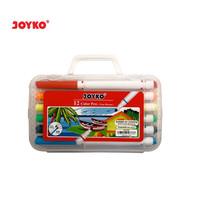 Color Pen Pulpen Pena Warna Joyko CLP-04 12 Warna Colors