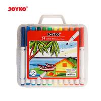 Color Pen Pulpen Pena Warna Joyko CLP-05 24 Warna Colors