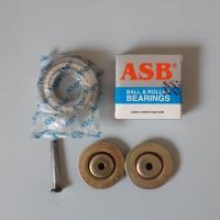 Paket Ball Bearing ASB 6205 Bering Roda Set Pintu Folding Gate Rolling