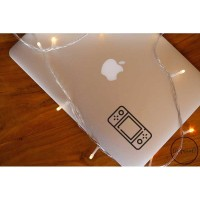 Decal Sticker Macbook Stiker Nintendo Switch Game Laptop