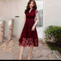 dress lace premium high quality import