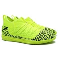 Sepatu Futsal Puma Future 4.3 Net Fit IT - Yellow Alert/Puma Black