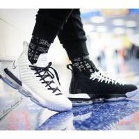 Sepatu Nike Lebron 16 Equality Black White Premium Original
