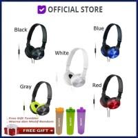 SONY MDR-ZX310 Sound Monitoring Headphone Headset Sony MDR ZX310AP Ori - Putih