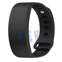 Samsung Gear Fit 2 SM R360 Strap Silicone Watchband Tali Jam Smartband