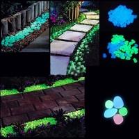 Batu Hias Glow In the dark dekorasi hiasan taman aquarium interior set