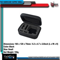 TAS HARDCASE GOPRO SIZE SMALL FOR ACTION CAM