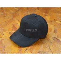 topi baseball pria / topi dobelmess / topi polos hitam