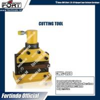 Pemotong Busbar CWC-200 12mm Tembaga Mesin Cutting Tool Potong FORT
