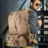 Tas Ransel Army Militer 4 in 1 Jumbo Tactical Outdoor Asli Import