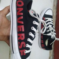 Converse all star ox black white original Made in Indonesia