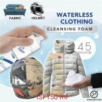 Waterless Clothing Cleansing Foam / Super Dry Clean - Pembersih Noda