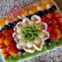 salad buah tukusiki 2000 ml toping special free hbd