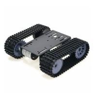 Smart Robot Tank Chassis Melacak Platform Mobil