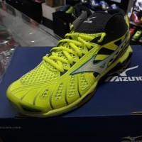 Sepatu Volly Mizuno Wave Tornado X Citrun/Grey