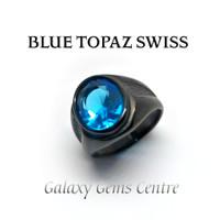 Cincin Batu Blue Topaz Swiss Kerren