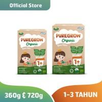Paket Mix 360gr & 720gr PUREGROW Organic - Susu Formula Organik Girl