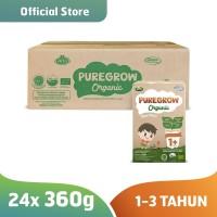 1 Carton PUREGROW Organic - Susu Formula Organik 1-3 Tahun 360gr Boy