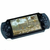 X6 8G 32 Bit 4.3 PSP Portable Handheld Game Console Player