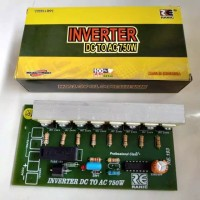 KIT INVERTER DC TO AC 750W