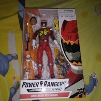power rangers lightning collection dino charge red ranger, red ranger