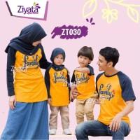 Baju Couple Baju Keluarga Baju Muslim Baju Anak Kaos Ziyata Sarimbit 2