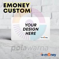 Kartu Emoney Etoll Satuan Custom Print Foto Bebas Saldo 0 Termurah