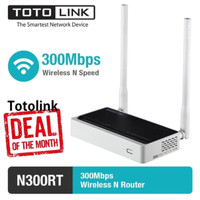TOTOLINK 300 Mbps!!! N300RT ROUTER WIRELESS N FAST INTERNET MURAH