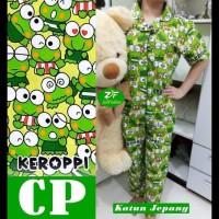 Baju Tidur Cp Piyama Keropi/Piyama Murah - Hijau Muda