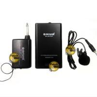 N Aiwa NA 801 VHF Microphone Wireless Clip on Single SSfx3900