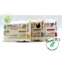 Maseko Kaldu Non MSG Ayam Kemasan Sachet 100g Lingkar Organik